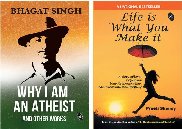 Why I Am An Atheist And Other Works + Life Is What You Make It (Set Of 2 Books)