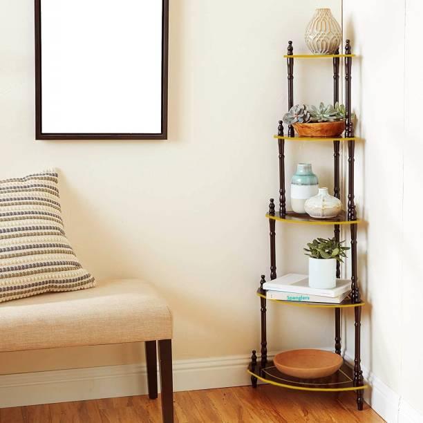 Spanglers Engineered Wood Corner Table