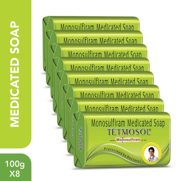 Tetmosol Monosulfiram Medicated Soap for Skin Infections, Rashes, Itching & Sores