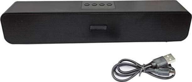 Potasa E-91 Soundbar with Detachable Wireless Surround Speakers 10 W Bluetooth Soundbar