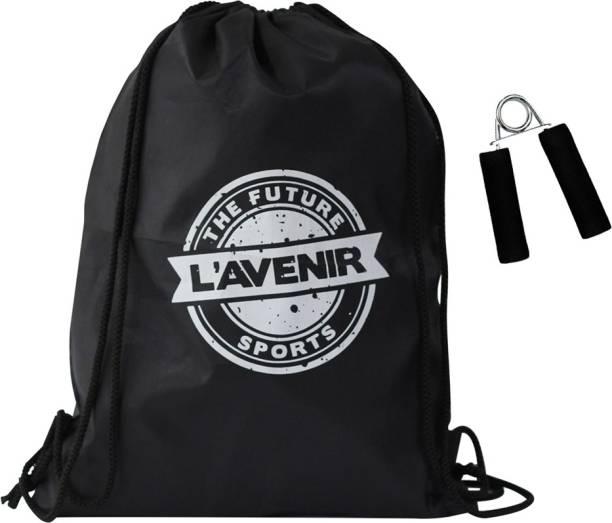 L'AVENIR Premium Drawstring / Dori Bag + Hand Grip (Best for Stadents & Daily Usage)