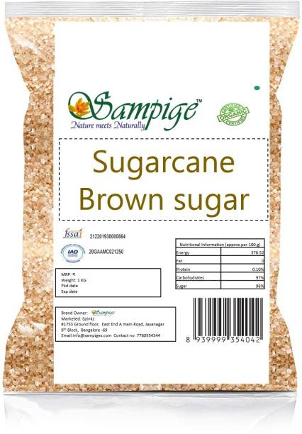 Sampige Brown-sugar 1kg Sugar
