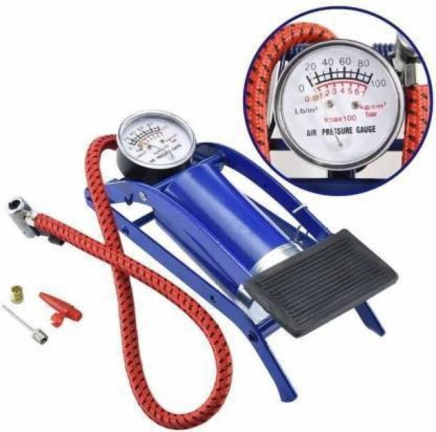 Kunj Enterprise 100 psi Tyre Air Pump for Car & Bike