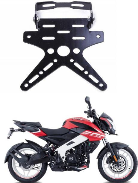 Delhismart Tail Tidy Number Plate Stand _128 Bike Number Plate