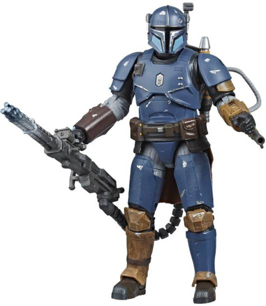 STAR WARS The Black Series Heavy Infantry Mandalorian Toy 6-inch Scale Collectible Deluxe Action Figure