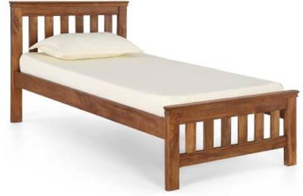 Worldwood Solid Wood Queen Bed