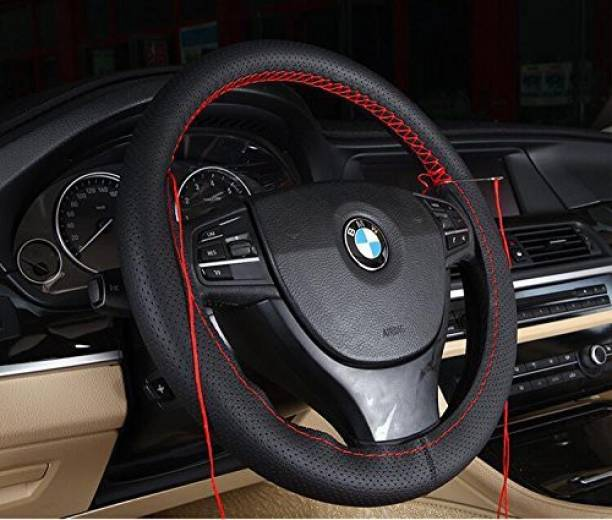 s mangalam Hand Stiched Steering Cover For BMW X5