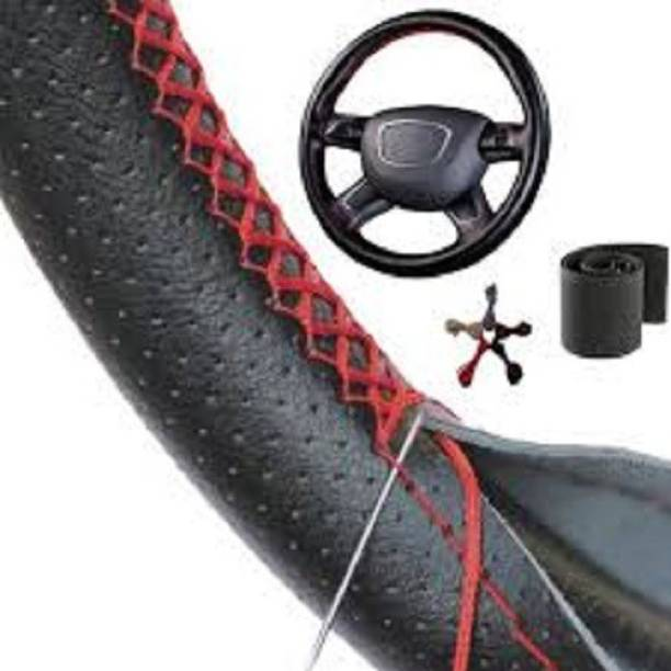 s mangalam Hand Stiched Steering Cover For Hyundai Civic