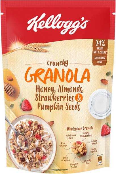 Kellogg's Crunchy Granola Honey, Almonds, Strawberries and Pumpkin Seeds