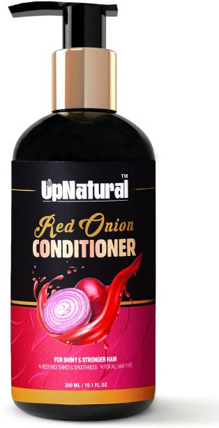 UPNATURAL Red Onion Hair Conditioner with Red Onion Oil & 25 Botanical Actives - No Parabens, Mineral Oil