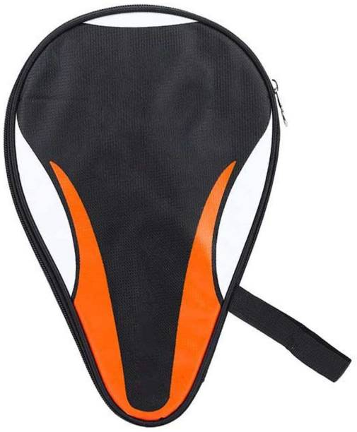 VGEBY Ping Pong Paddle Cover Bat Bag Waterproof Dustproof Full Protection (Orange) Racquet Carry Case/Cover Free Size