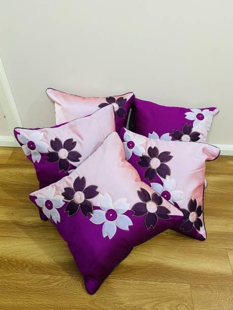 Desi Kapda Embroidered Cushions Cover