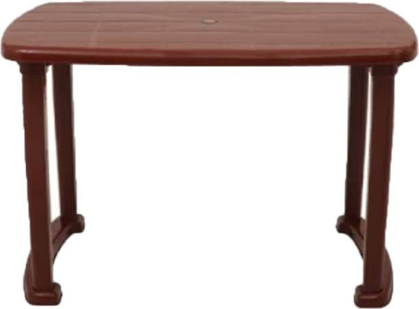 RW REST WELL RW-Arjun Dining Table Plastic 4 Seater Dining Table
