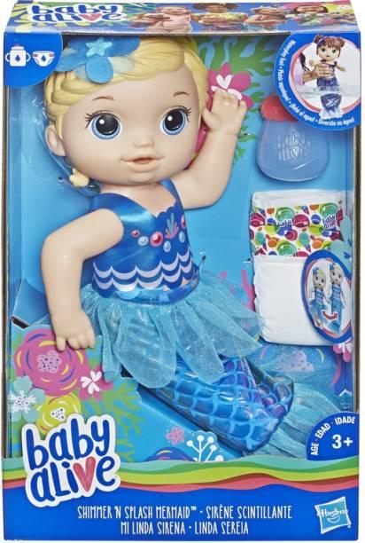 Baby Alive Shimmer n Splash Mermaid (Bld Hair)