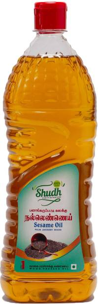 Shudh Natural Pure Sesame Oil Plastic Bottle