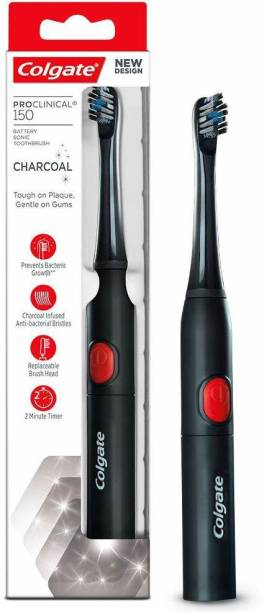 Colgate Pro-Clinical 150 Charcoal - 1 Pc Electric Toothbrush
