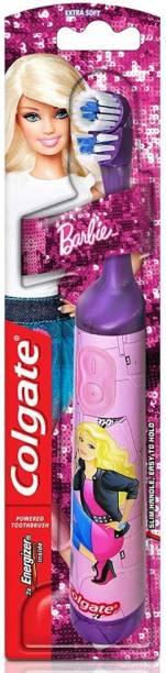 Colgate Kids Barbie Battery Powered (Multicolor) Kids Barbie Battery Powered (Multicolor) Electric Toothbrush