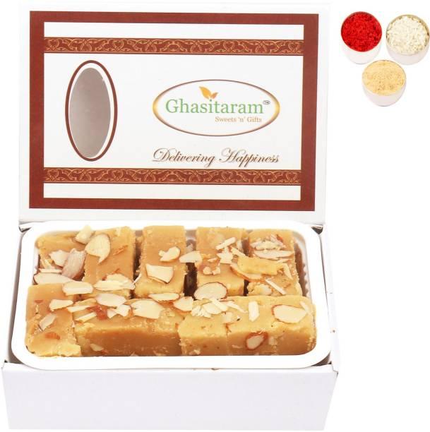 Ghasitaram Gifts Bhaidooj Gifts Sweets- Soft Mysore pak (200 gms) Combo