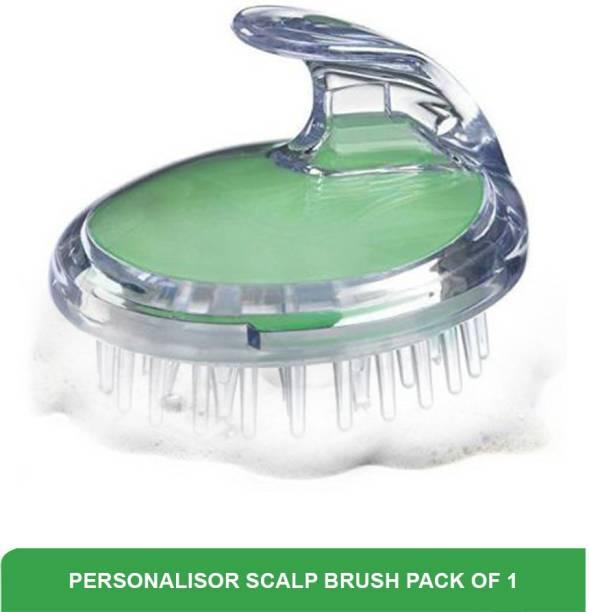 Personalisor Scalp Brush Hair Washing Brush | Massager Brush Promotes Blood Circulation | Antibacterial Resil Material
