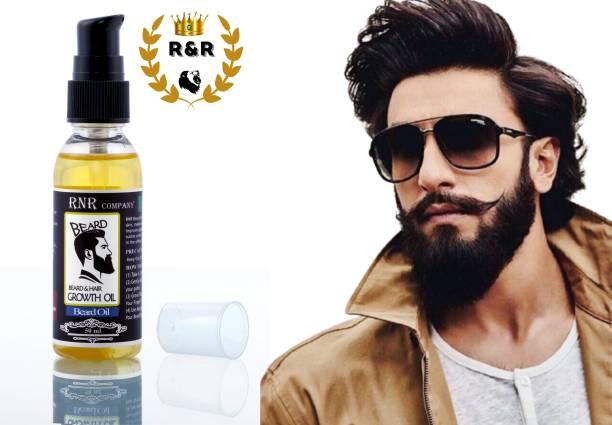 RNR COMPANY Organics 7X Beard Growth Oil |Lavender| Blend of 10 Natural Oils| Hair Oil (50 ml) Hair Oil (50 ml) Hair Oil