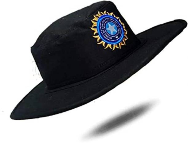 CAPS FOR MEN S umpire caps like cricket ,with BCCI LOGO Small Brim Free size