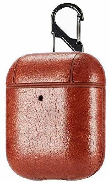 RJR Leather Pull String Headphone Case