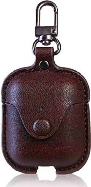 RJR Leather Press Stud Headphone Case