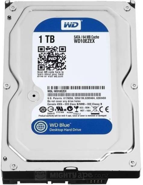 WD SATA 1 TB Desktop Internal Hard Disk Drive (WD10EZEX)
