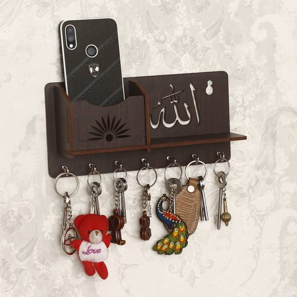 CAPIO ART Alla Design With mobile Stand Wood Key Holder