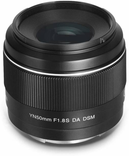 Yongnuo YN50mm F1.8S  50mm F1.8 Larege Aperture APS-C Standard Prime E-Mount Auto Manual Focus AF MF USB for Sony Cameras  Lens