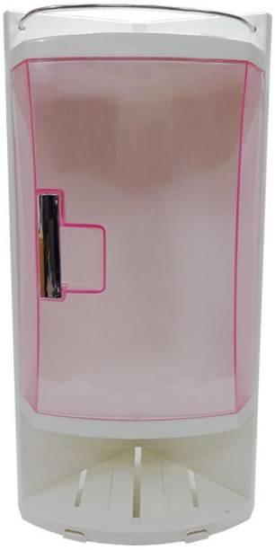 Furn Master Pink Medical Corner Cabinet Semi-recessed Medicine Cabinet