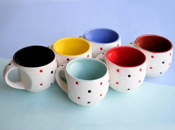 THE INDIA STYLE white multi pari #50 Ceramic Coffee Mug