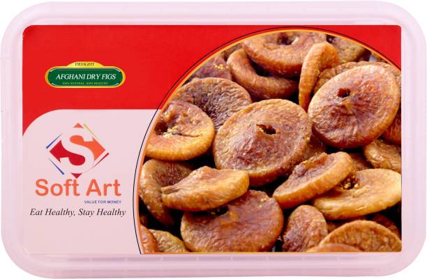 Soft Art Delight Afghani Dry Anjeer (Figs) Vacuum Pack (250g) Figs