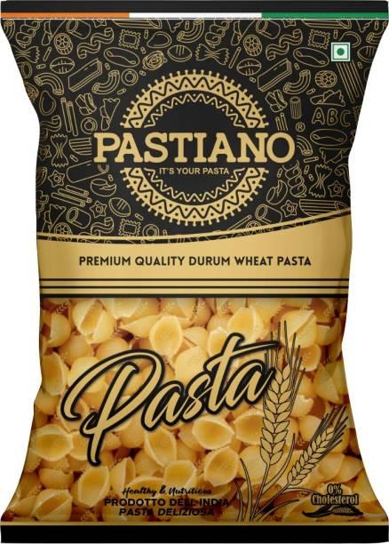 PASTIANO Shell Durum Wheat Pasta- 1 kg- Pack of 1 Shell Pasta
