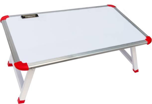 Always4U LT-007-White Wood Portable Laptop Table