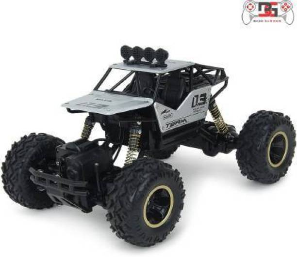 Yug Fashion BACKGAMMON Remote Control Rock Crawler (4WD) - Offroad Monster Truck Remote Control 4x4 - RC Car, Water Proof Car- Best for Playing Climbing Games and High Speed Racing