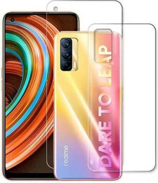 RUNEECH Front and Back Screen Guard for REALME X7