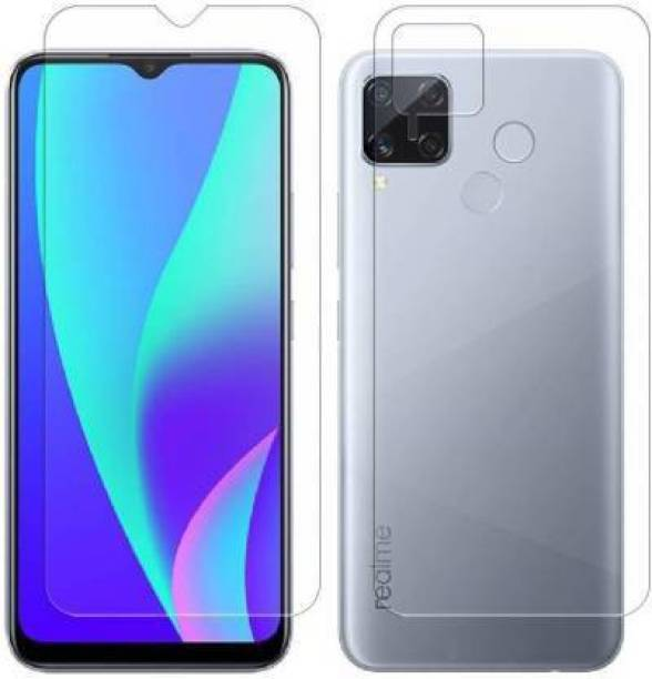 PR SMART Front and Back Tempered Glass for Realme C15