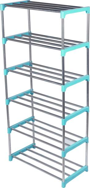 LivingBasics Metal Shoe Stand