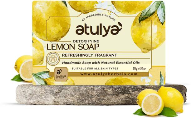 Atulya Lemon - Handmade Soap With Natural Essential Oils
