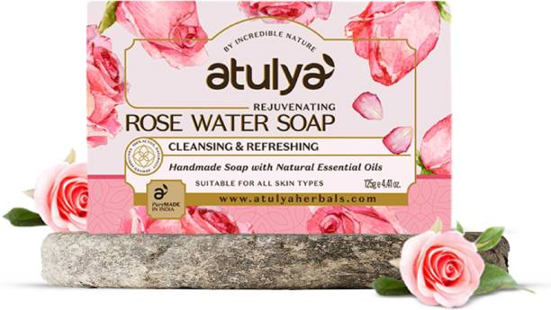 Atulya Rose Water - Handmade Soap With Natural Essential Oils