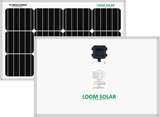 LOOM SOLAR 50 watt - 12 volt Mono PERC Solar Panel