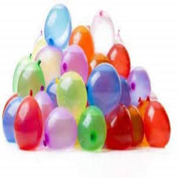 BBS DEAL Solid 50Pcs multicolor holi water ballon Balloon