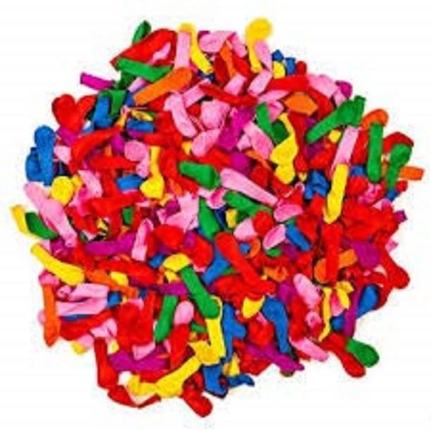 BBS DEAL Solid 100Pcs multicolor holi water ballon Balloon