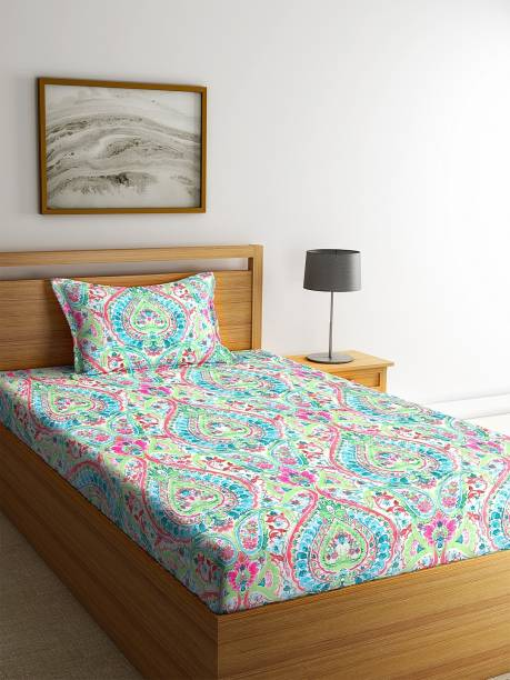 Bombay Dyeing 160 TC Cotton Single Printed Bedsheet