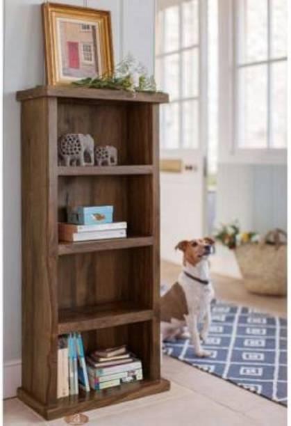 Worldwood Solid Wood Open Book Shelf