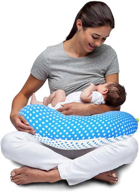baybee Nursing Pillow Cover | Pink Slipcover Breast feeding PIllow | Best for Breastfeeding Moms | Soft Born Dot Pattern Portable Fits comfortable On infant Nursing Pillows to Aid Mothers While Breast Feeding | Great Baby Shower Gift ( Pink ) Breastfeeding Pillow