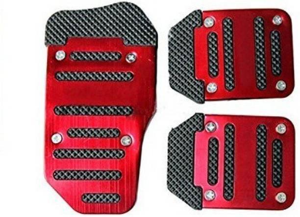 ACCESSOREEZ ANTI SLIP CAR PEDAL KIT 01 RED Car Pedal