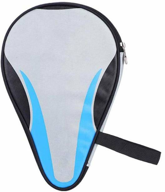 Fafeims Waterproof Table Tennis Paddle Bag Oxford Ping Pong Bat Case, Grey Racquet Carry Case/Cover Free Size