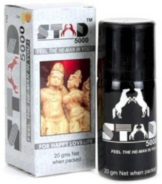 HUASHUZI Stad 5000 Black Spray For Men Pack Of 1 Body Mist  -  For Men